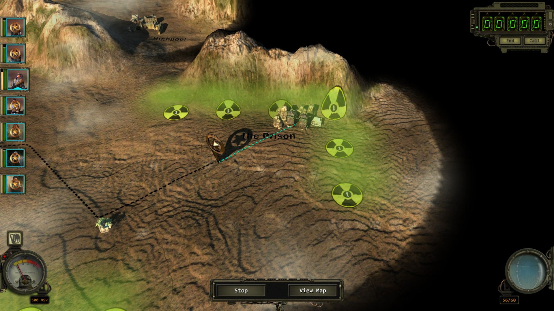 Map Of Arizona Wasteland 2.Thoughts Wasteland 2 The Scientific Gamer
