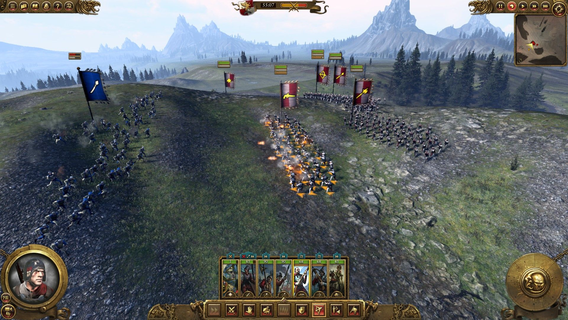 how to build strength in total war warhammer