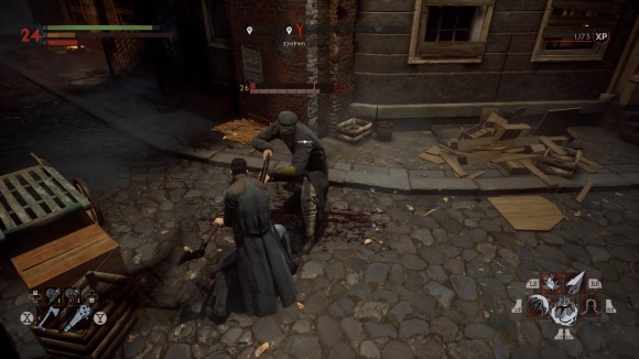 vampyr-combat